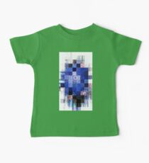 Blue Mosaic 2-Available In Art Prints-Mugs,Cases,Duvets,T Shirts,Stickers,etc Baby Tee
