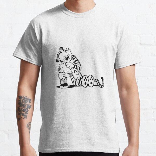 Calvin et Hobbes aiment T-shirt classique