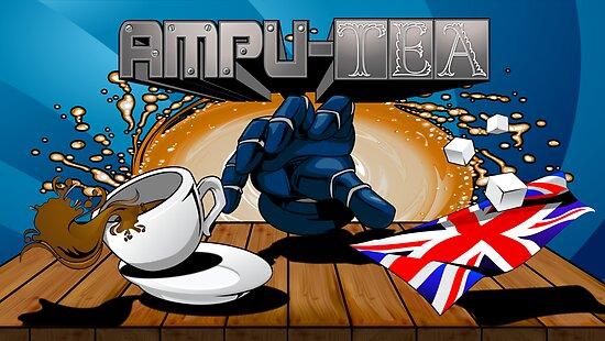 Ampu-tea Box Art by SparklingGames