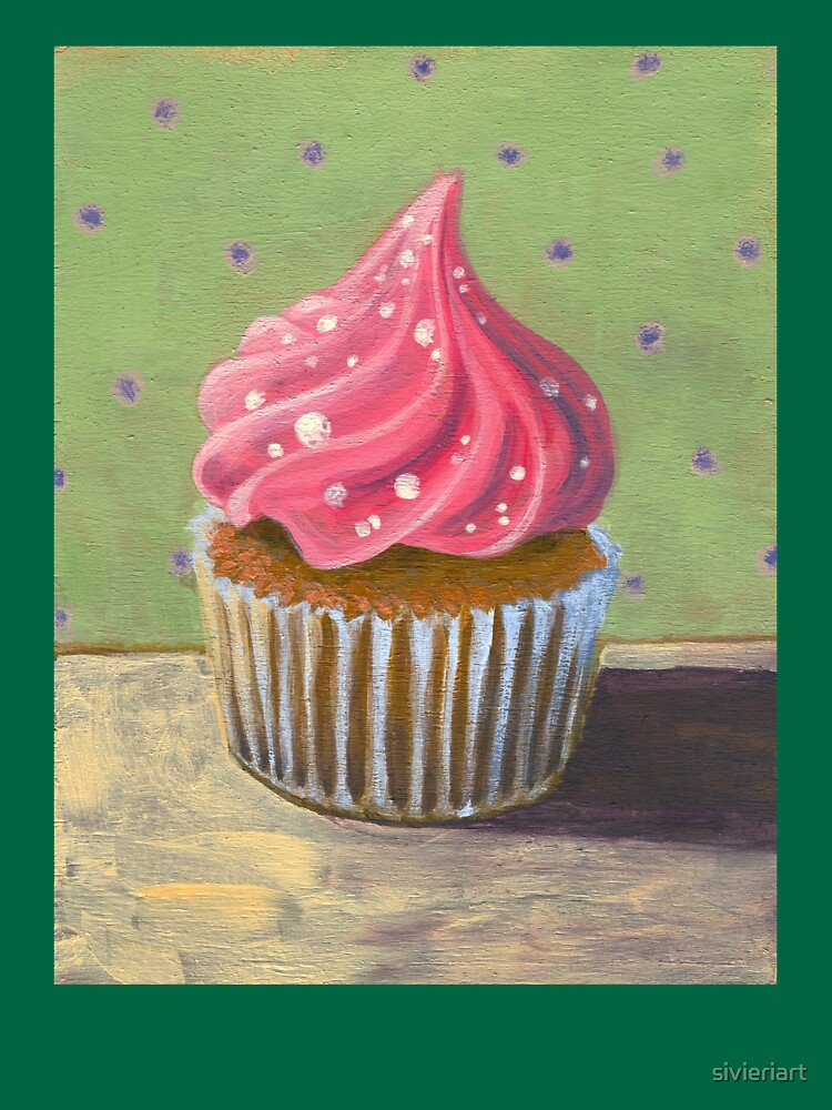 Russian Pink Cupcake by sivieriart