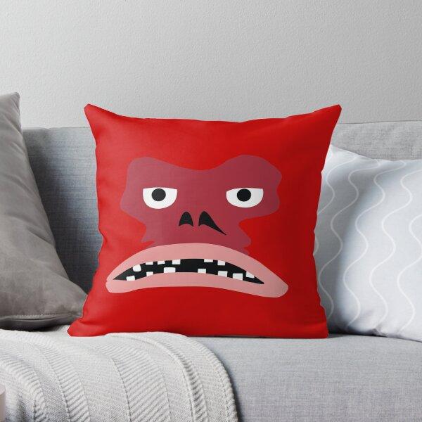 Piggy Mon Throw Pillow