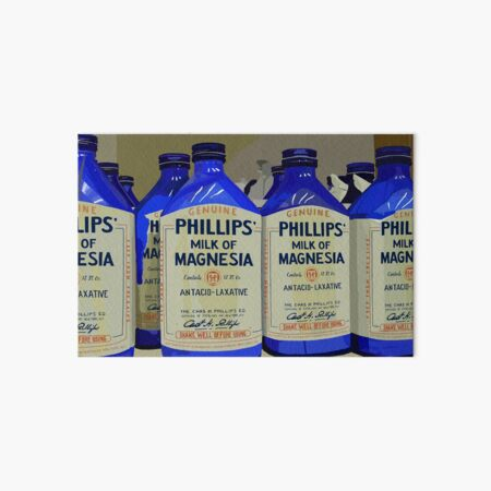 Philips Milk of Magnesia Art Board Print