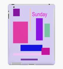 Sunday iPad Case/Skin
