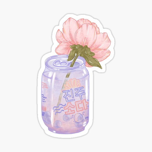 Pearl Soda Sticker