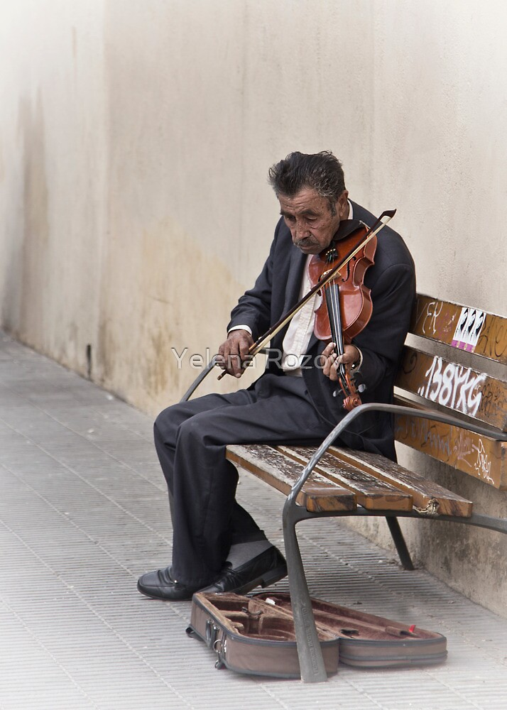 Cry My Violin, Cry.. by Yelena Rozov
