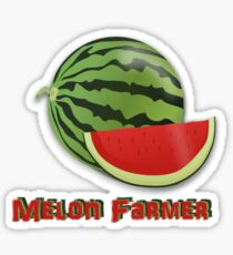 Melon Farmer Sticker