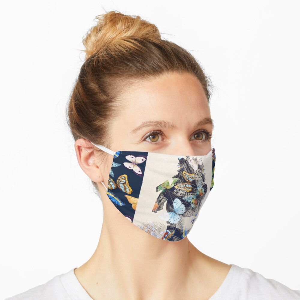 The Butterfly Collector Mask