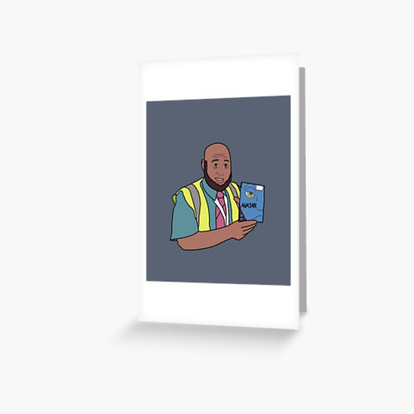 Have you seen Avatar? Taaj Come Fly With Me Greeting Card
