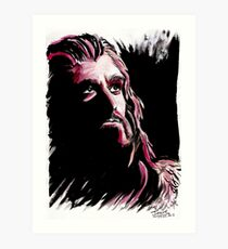 Thorin Oakenshield, amazing King Art Print