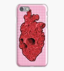 Skullentine Pink, by ARTmuffin iPhone Case/Skin