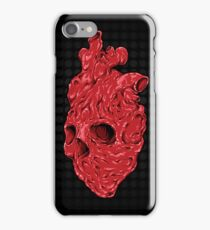 Skullentine, by ARTmuffin iPhone Case/Skin