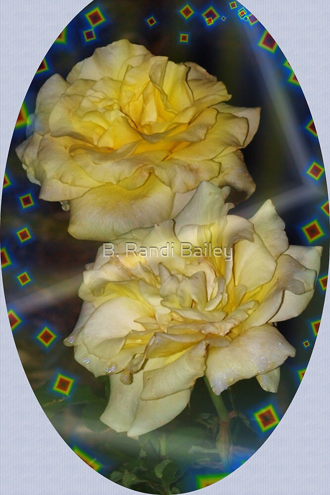 Emblematic yellow roses by ♥⊱ B. Randi Bailey