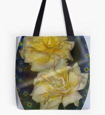 Emblematic yellow roses Tote Bag