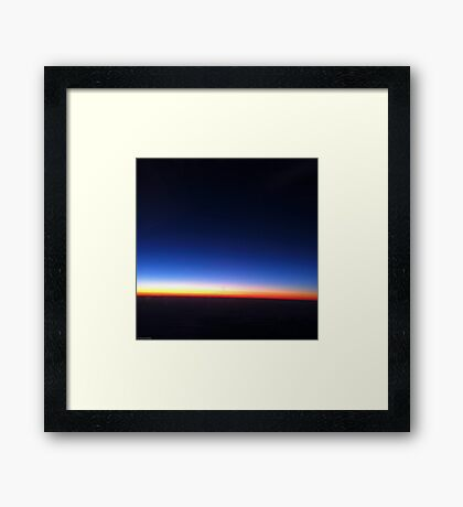 Perpetual Sunset Framed Print