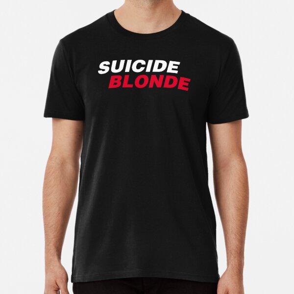 Selbstmordblondine schräg Premium T-Shirt