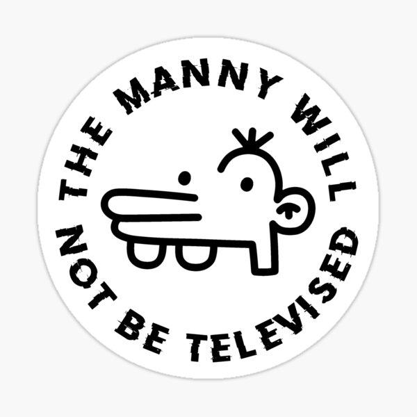 wer findet es lustig, da manny da oben zu sprühen? Sticker