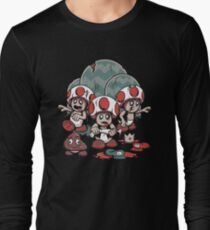 Tragic Mushrooms Long Sleeve T-Shirt