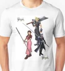 Dissidia 012 Reports Final Fantasy Characters 2 T-Shirt