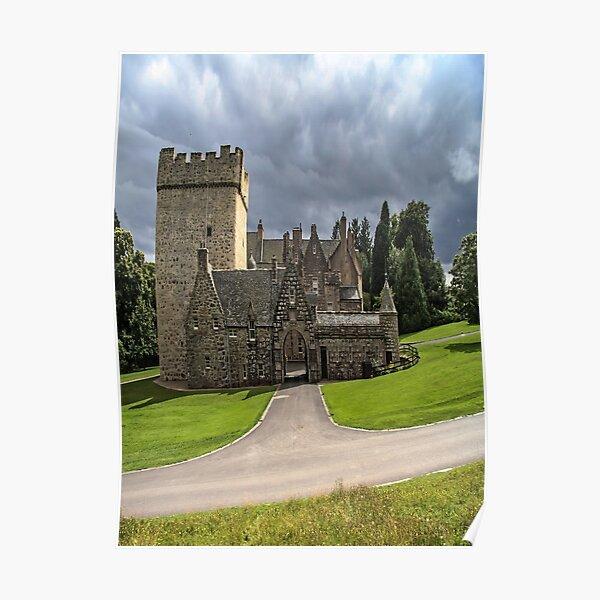 Drum Castle Aberdeenshire Scotland Poster