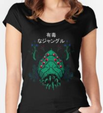 Toxic Jungle Women's Fitted Scoop T-Shirt