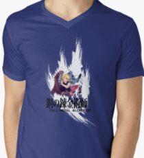Alphonse & Edward - Full Metal Alchemist Men's V-Neck T-Shirt