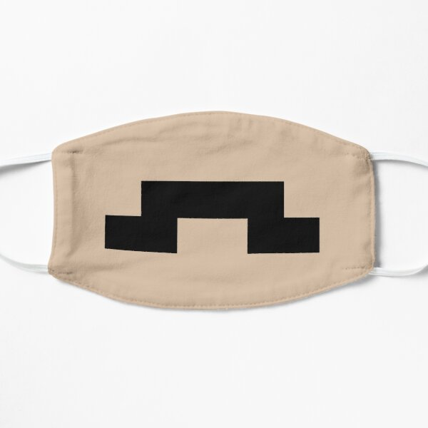 mumbo jumbo mustache Flat Mask