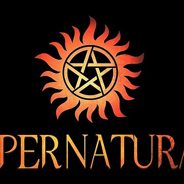 Supernatural logo in RED by stormthief19