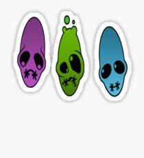 Oddworld Faces Sticker