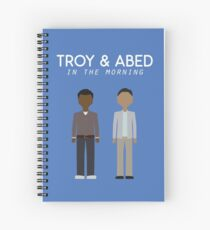Troy & Abed in the Morning Spiral Notebook