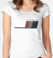 Audi sport Women's Fitted Scoop T-Shirt