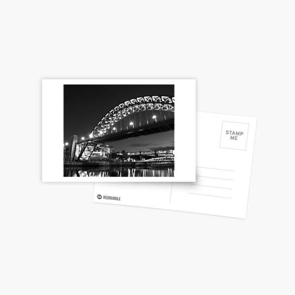 Mono Tyne Bridge Postcard