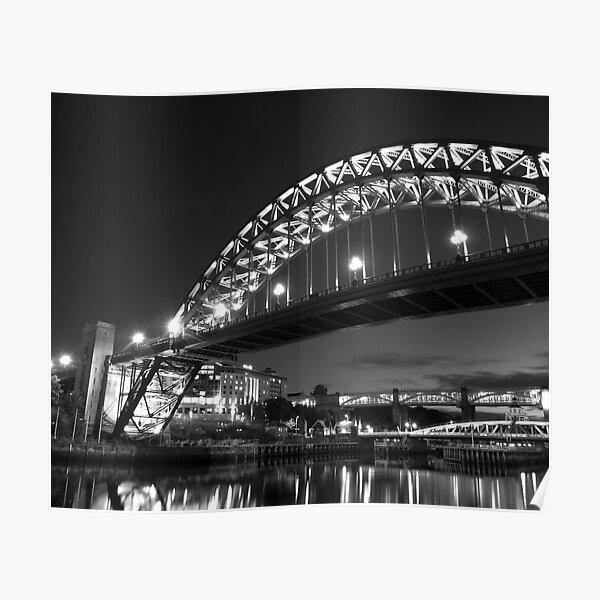 Mono Tyne Bridge Poster