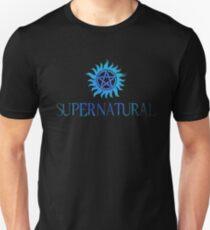 Supernatural logo in BLUE Unisex T-Shirt
