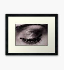 Blink Of An Eye Framed Print