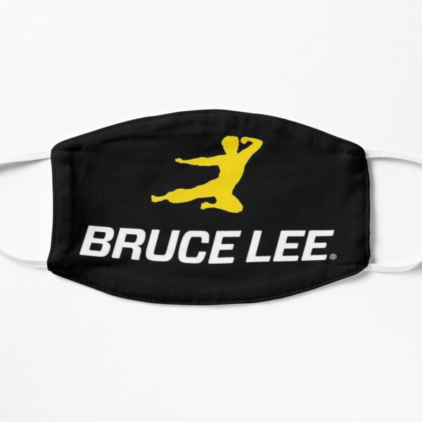 Bruce Lee Mascarilla plana