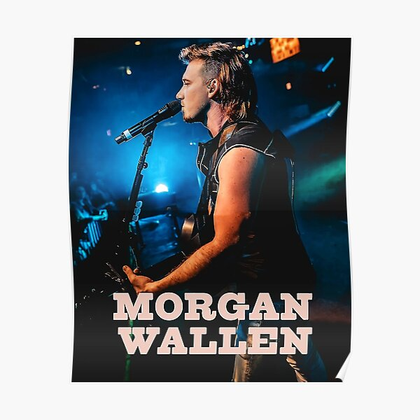 Morgan Wallen Classic Pop Poster