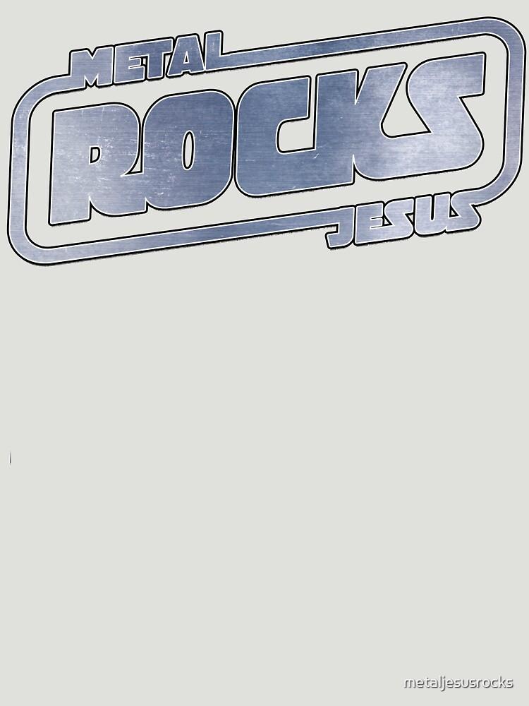 Metal Jesus Rocks - METAL LOGO by metaljesusrocks