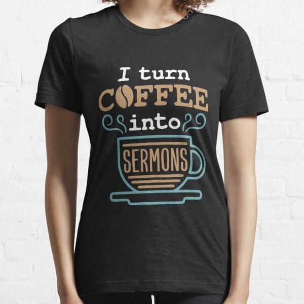 Pfarrer oder Mitglied des Kirchenklerus. Ideal für christliche Kaffeeliebhaber. Essential T-Shirt