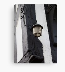 The lamp on The Royal Oak Canvas Print