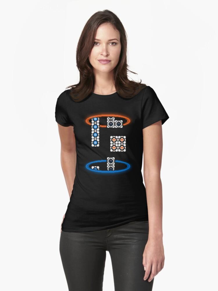 TESTRIS Womens T-Shirt Front