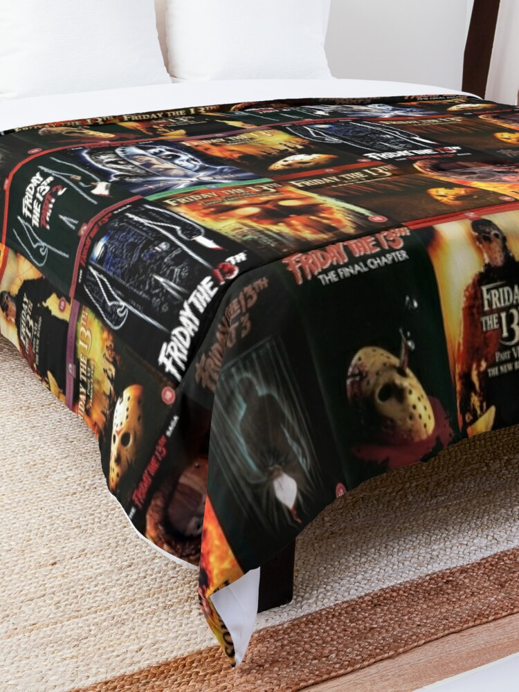 Alternate view of Jason Friday the 13th Movie Covers Comforter
