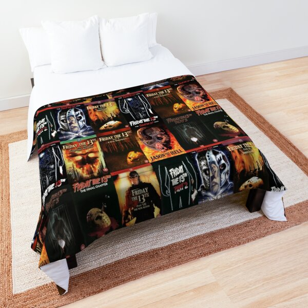 Jason Friday the 13th Movie Covers Comforter