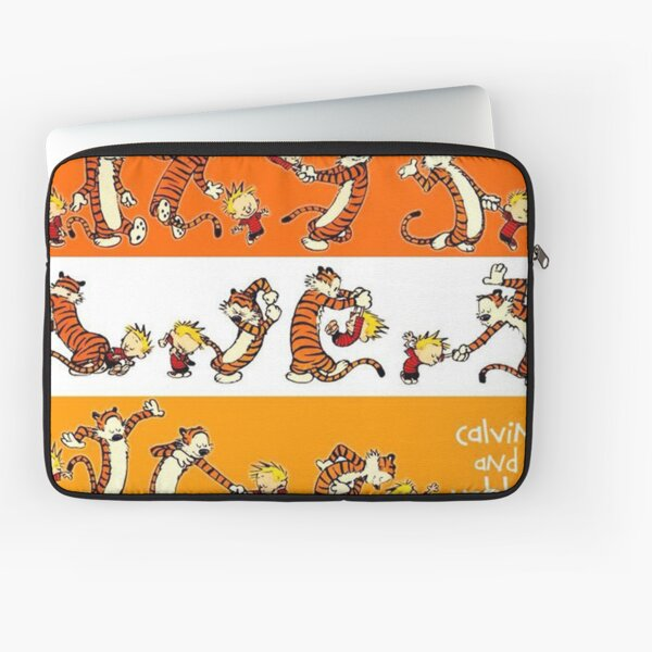 calvin and hobbes poster Laptop Sleeve