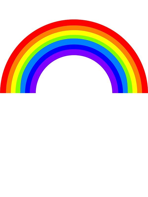 Rainbow Wall Stickers Decor