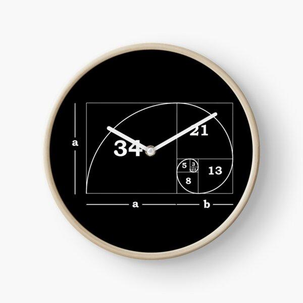 #Golden #Ratio #GoldenRatio #Design Ideas Fibonacci Spiral = 1.6180339887498948420 Clock
