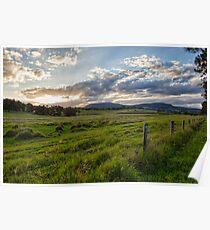 Boonah Sunset • Queensland Poster