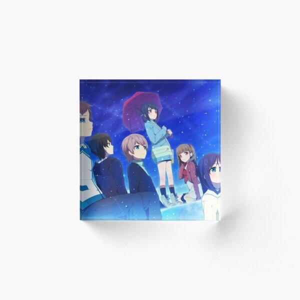 Nagi no Asukara 5 Acrylic Block