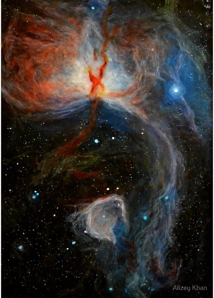 Flame Nebula by Alizey Khan