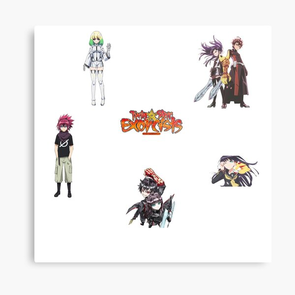 twin star exorcists pack Metal Print