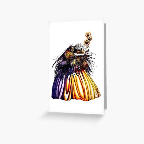 Lantern Princess Greeting Card